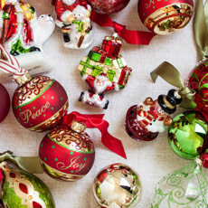 Christmas Tree Ornaments With Pictures