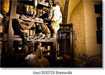 Medieval Kitchen Art Print Barewalls Posters & Prints bwc3530725