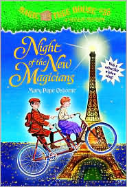 Night of the New Magicians (Magic Tree House Series #35) by Mary Pope Osborne: Book Cover