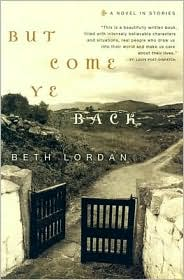 But Come Ye Back by Beth Lordan: Book Cover