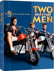 Two and a Half Men - Season 2 with Charlie Sheen: DVD Cover