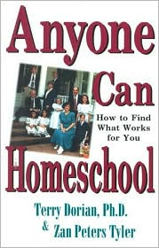Anyone Can Homeschool by Terry Dorian: Book Cover