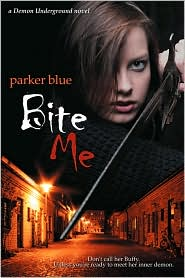 Bite Me by Parker Blue: Book Cover