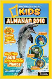 National Geographic Kids Almanac 2010 by National Geographic: Book Cover
