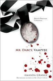 Mr. Darcy Vampyre by Amanda Grange: Book Cover