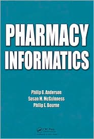 Pharmacy Informatics by Philip O. Anderson: Book Cover