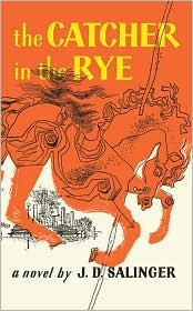 The Catcher in the Rye by J. D. Salinger: Book Cover