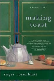 Making Toast by Roger Rosenblatt: Book Cover
