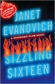 Sizzling Sixteen (Stephanie Plum Series #16) by Janet Evanovich: Book Cover