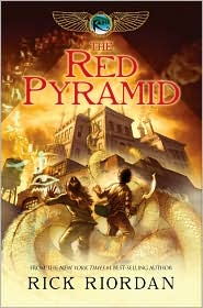 The Red Pyramid (Kane Chronicles Series #1) by Rick Riordan: Book Cover