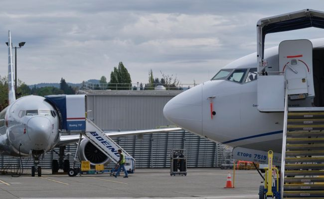 Boeing Stock Rises On 737 Max Production Announcement