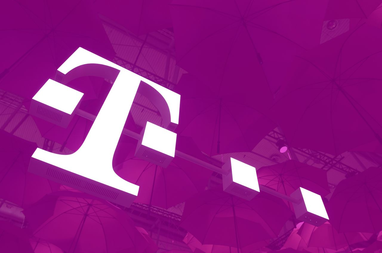 t mobile stock jumps