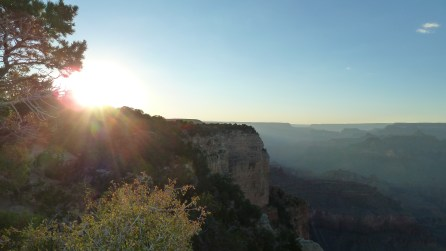 Zonsondergang @ Grand Canyon