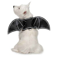 Zack and Zoey Bat Glow Wing Dog Harness Costu...
