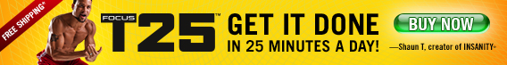 GET IT DONE: IN  25 MINUTES A DAY!