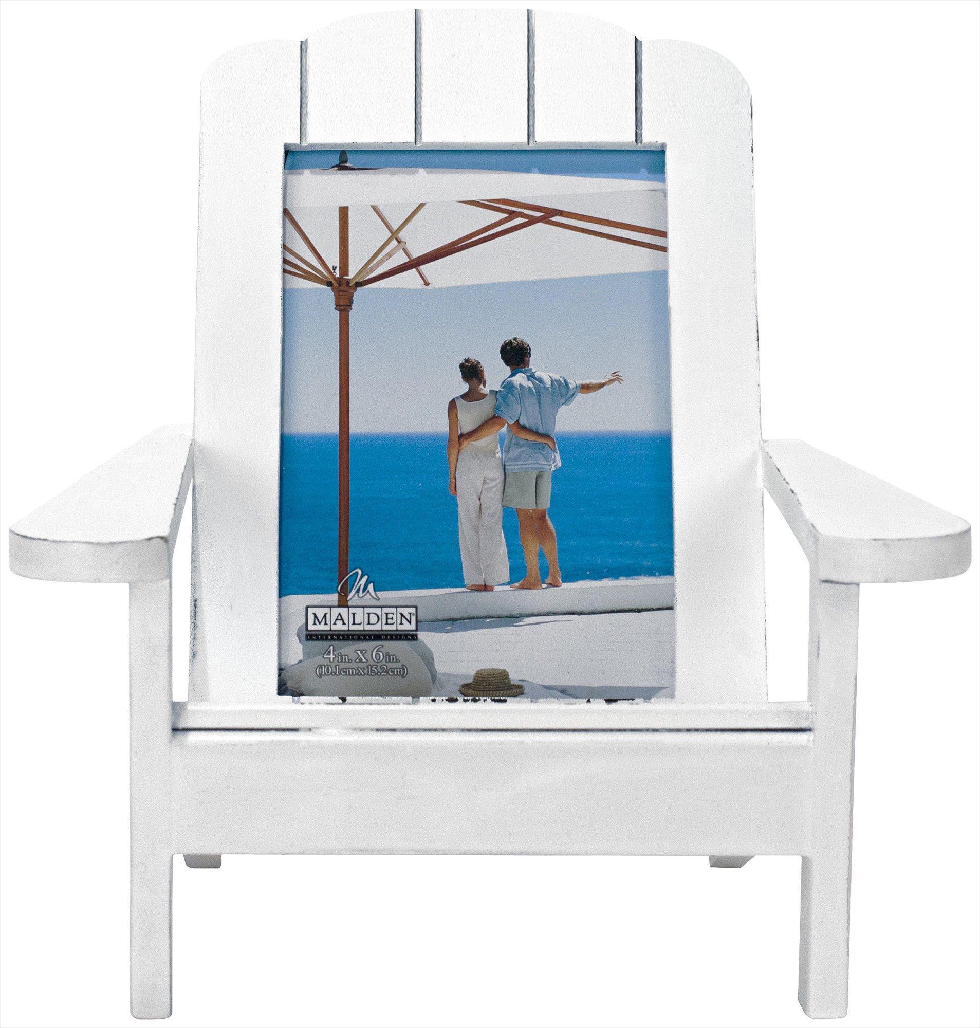 beach chair photo frame office exercises malden 4 x 6 white bealls florida close