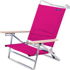 Pink Beach Chair Adirondack Plans Lowes Accessories Chairs Bealls Florida Jgr Copa 5 Position Solid Lay Flat Quick View