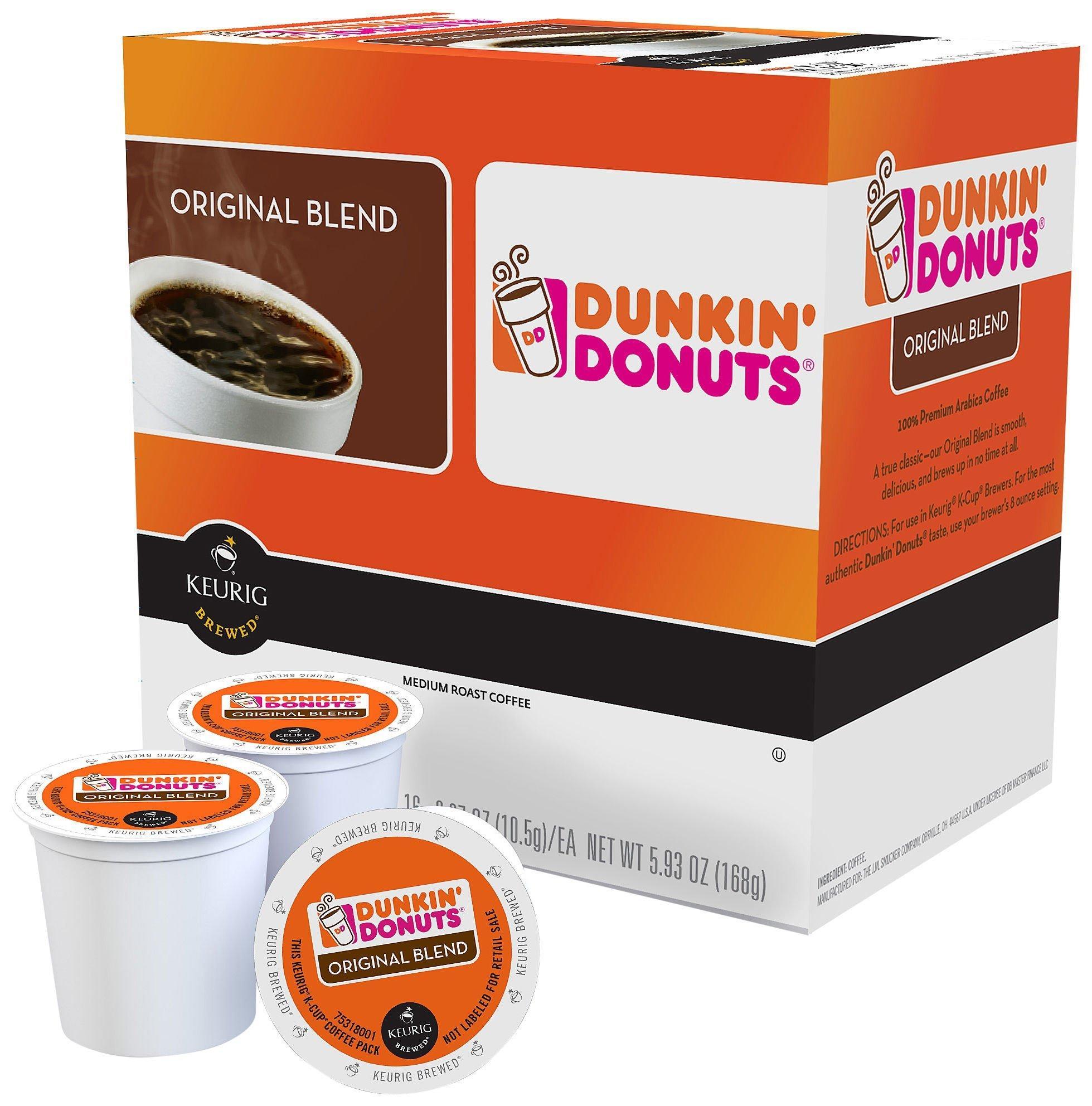 Keurig KCup Dunkin Donuts Original Blend 16 pk
