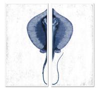 PTM Images Stingray Diptych Framed Wall Art Set | Bealls ...