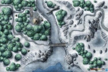 wilderness dungeons dragons frozen scenery maps gale force mat game vinyl snow gf9 neverwinter campaign nine awesome accessories terrain dd