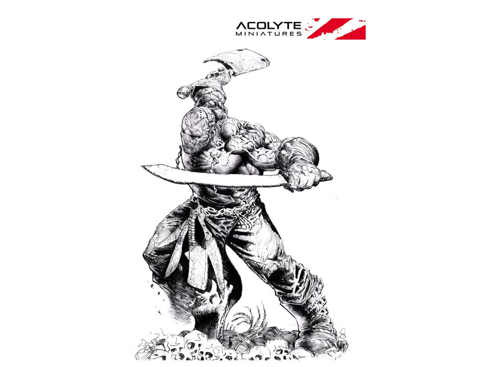 Acolyte Miniatures Launch Soon With The Deadly Butcher