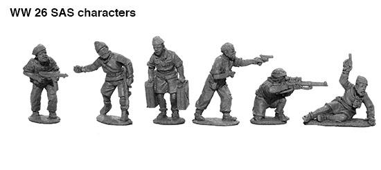 Perry Miniatures Send in New SAS Teams – OnTableTop