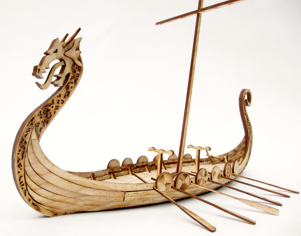 Tre Games Inc Set Sail In A 28mm Viking Longship