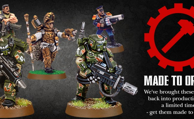 Games Workshop S Made To Order Scheme Launches