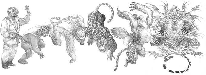 Hunt Heavenly Creatures in New Nahual RPG