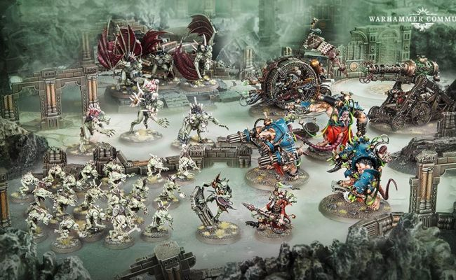 Vampires Skaven Clash Three Hunters Are Abroad In