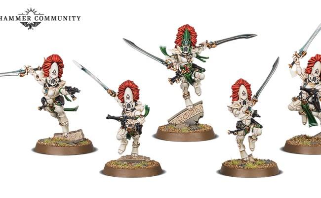 Ancient Space Elf Enemies Clash In 40k S Blood Of The