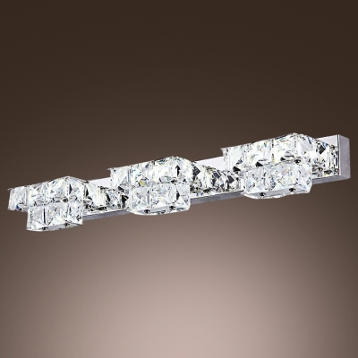 Make Elegant Crystal Bath Light the Highlight of Your