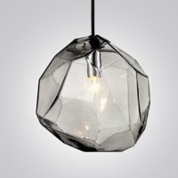 Crystal Ice Cube in Blue/Orange/Grey Novel Pendant Light ...