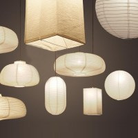 Exclusive Paper Mini Pendant Light In White By Designer ...