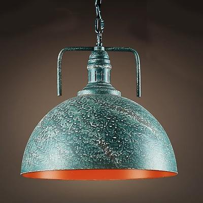 Green Galvanized Iron Single Light Down Lighting Barn