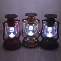 Solar Powered LED Camping Portable Decorative Lamp ...