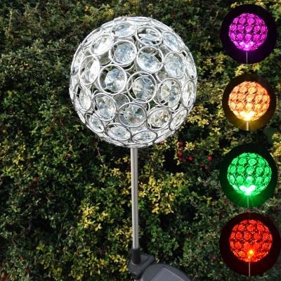 Solar Led Flame Light For Garden Lawn Night Decorative Landscape