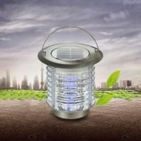 Solar Powered Portable Table Lamp Bug Killer Decorative ...