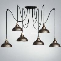 Six Light Multi Light Pendant Lighting with Bowl Dome ...