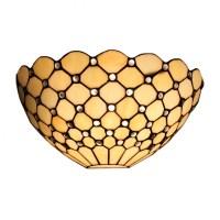 Tiffany Style 1-light Jeweled Hallway Wall Sconce ...