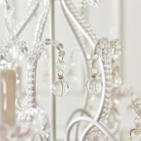 Girls Crystal Chandelier Pink/White Modern Chandelier ...