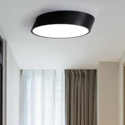 designers lighting ideas low profile lighting led beveled cylinder black white flush mount geometric led lighting 12 24 36w high output with cool