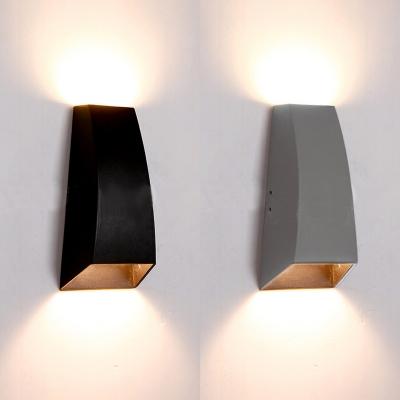 Geometric Led Wall Light Fixture Low Wattage 6w Energy