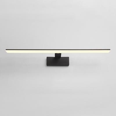 Contemporary Lighting 1 Light BlackWhite LED Linear