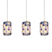 Acrylic Mosaic Design Suspended Light Tiffany Style 3 ...