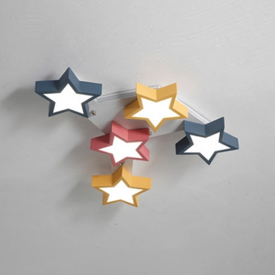 Star Shaped Ceiling Light Shade Nakedsnakepress Com