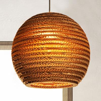 paper globe suspension light