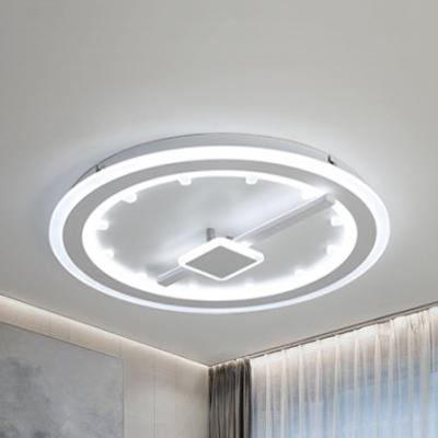 https www beautifulhalo com 536483creative white led flush ceiling light circle edge acrylic warmwhite lighting ceiling lamp for kindergarte p 360517 html