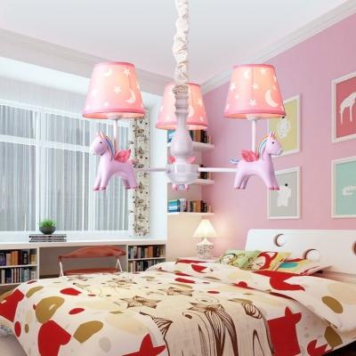 horse child bedroom suspension
