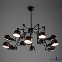 Architectural Spider Chandelier - Beautifulhalo.com
